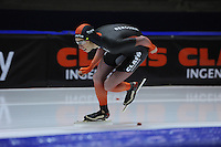 SCHAATSEN: HEERENVEEN; 11-10-2014, IJstadion Thialf, KNSB Trainingswedstrijd, Jorrit Bergsma, ©foto Martin de Jong