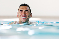 PICTURE BY VAUGHN RIDLEY/SWPIX.COM - Rugby League - England RL - England RL ETS Camp - Moulton College, Moulton, England - 13/05/13 - England Pool Session, Kevin Sinfield.