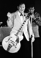Bill Haley performing in 1973. Credit: Ian Dickson/MediaPunch