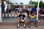 BLOEMFONTEIN, SOUTH AFRICA APRIL 17, 2013: Students relax during a 4pm tea break at the Armentum residence at the University of the Free State in Bloemfontein, South Africa. Photo by: Per-Anders Pettersson