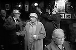 Silver Jubilee Street Party moves to the local pub. 1977 Repton street, Whitechapel, Tower Hamlets east end London.<br /> <br /> My ref 16/2056/,1977,