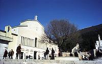 San Giovanni Rotondo.Il Santuario di S.Maria delle Grazie.San Giovanni Rotondo.The Sanctuary of Santa Maria delle Grazie.