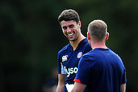 Adam Hastings of Bath Rugby looks on. Bath Rugby pre-season training session on August 9, 2016 at Farleigh House in Bath, England. Photo by: Patrick Khachfe / Onside Images