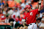 21 May 2006: Matthew LeCroy, first baseman for the Washington Nationals, at bat against the Baltimore Orioles at RFK Stadium in Washington, DC. The Nationals defeated the Orioles 3-1 to take 2 of 3 games in their first inter-league series...Mandatory Photo Credit: Ed Wolfstein Photo..