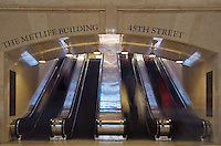Escalators at Grand Central Terminal