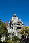 California: San Francisco. Haas-Lilienthal Victorian house. Photo copyright Lee Foster. Photo #: san-francisco-victorians-22-casanf83869