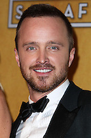 LOS ANGELES, CA - JANUARY 18: Aaron Paul in the press room at the 20th Annual Screen Actors Guild Awards held at The Shrine Auditorium on January 18, 2014 in Los Angeles, California. (Photo by Xavier Collin/Celebrity Monitor)