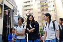 "EGYPT, CAIRO: At the private prestigious German school ""Deutsche Schule der Borromäerinnen"" pupils can make the German Abitur that enables them to study in Germany or Europe in general. Beside the German and also the Egyptian curriculum they also have special interest classes in the afternoon, like circus, singing, footbal among others. The school is run by catholic nuns, but the students are Muslims and Christians. It is a girls only school."