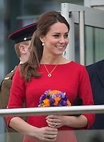 Kate, the Duchess of Cambridge launches fundraising drive to build a new children's hospice - UK