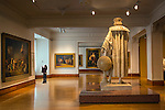 Mexico, Mexico City, Museo Nacional de Arte, National Museum of Art, Christopher Columbus Sculpture