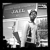 ALBUM COVER:Black Panther Bobby Hutton on the cover of Primal  Scream single 'Star'produced by Brendan Lynch &amp; Primal Scream. Creaton Records LTD. London.<br />