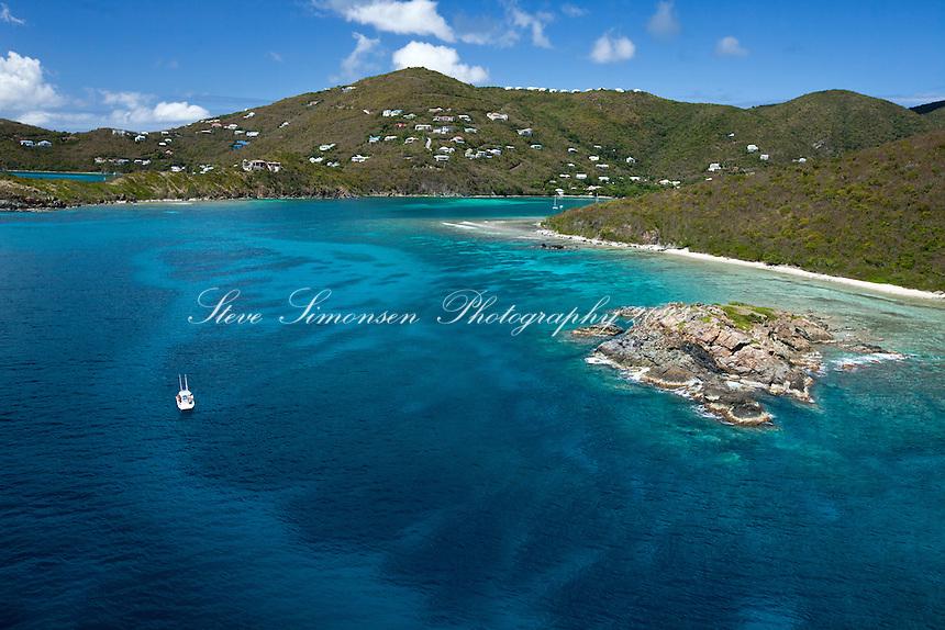 Cocoloba cay looking towards fish bay steve simonsen for Virgin islands fishing