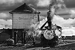Engine 484, Cumbres &amp; Toltec Scenic Railroad in Antonito, Colorado.