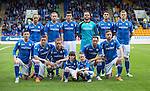 St Johnstone v Alashkert FC...09.07.15   UEFA Europa League Qualifier 2nd Leg<br /> Back row from left, Steven Anderson, Frazer Wright, Joe Shaughnessy, Alan Mannus, John Sutton and Brian Easton.<br /> Front from left, Michael O'Halloran, Tam Scobbie, Scott Brown, Chris Kane and Steven MacLean<br /> Picture by Graeme Hart.<br /> Copyright Perthshire Picture Agency<br /> Tel: 01738 623350  Mobile: 07990 594431