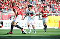 Yoshizumi Ogawa (Grampus), APRIL 24th, 2011 - Football : 2011 J.League Division 1 match between Urawa Red Diamonds 3-0 Nagoya Grampus Eight at Saitama Stadium 2002 in Saitama, Japan. The J.League resumed on Saturday 23rd April after a six week enforced break following the March 11th Tohoku Earthquake and Tsunami. All games kicked off in the daytime in order to save electricity and title favourites Kashima Antlers are still unable to use their home stadium which was damaged by the quake. Velgata Sendai, from Miyagi, which was hard hit by the tsunami came from behind for an emotional 2-1 victory away to Kawasaki..(Photo by Hitoshi Mochizuki/AFLO)