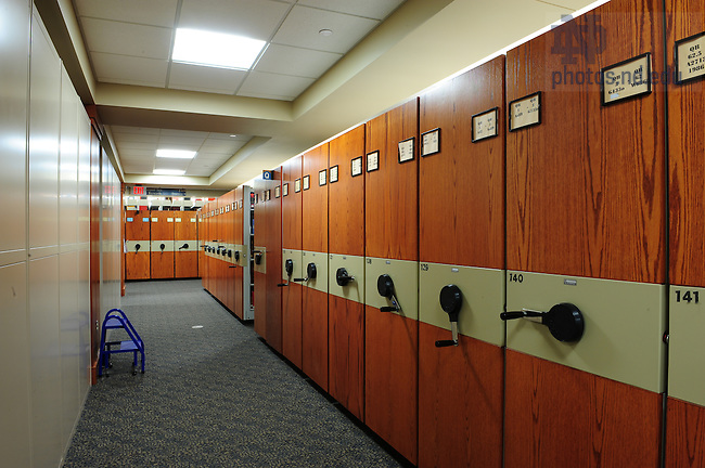 Hesburgh Library interior-basement