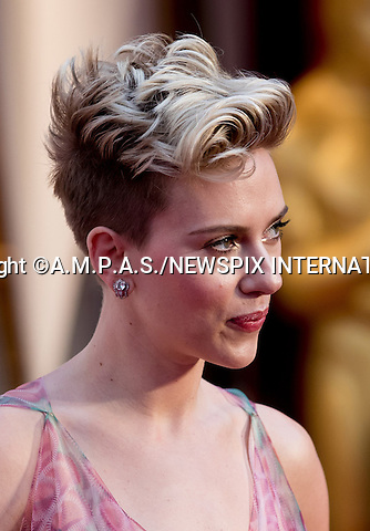 26.02.2017; Hollywood, USA: SCARLETT JOHANSSON<br /> attends The 89th Annual Academy Awards at the Dolby&reg; Theatre in Hollywood.<br /> Mandatory Photo Credit: &copy;AMPAS/NEWSPIX INTERNATIONAL<br /> <br /> IMMEDIATE CONFIRMATION OF USAGE REQUIRED:<br /> Newspix International, 31 Chinnery Hill, Bishop's Stortford, ENGLAND CM23 3PS<br /> Tel:+441279 324672  ; Fax: +441279656877<br /> Mobile:  07775681153<br /> e-mail: info@newspixinternational.co.uk<br /> Usage Implies Acceptance of Our Terms &amp; Conditions<br /> Please refer to usage terms. All Fees Payable To Newspix International