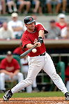 10 March 2006: Kevin Orie, infielder for the Houston Astros, at bat during a Spring Training game against the Washington Nationals. The Astros defeated the Nationals 8-6 at Osceola County Stadium, in Kissimmee, Florida...Mandatory Photo Credit: Ed Wolfstein..