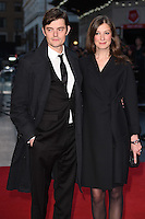 LONDON, UK. October 16, 2016: Sam Riley &amp; wife Alexandra Maria Lara at the London Film Festival 2016 premiere of &quot;Free Fire&quot; at the Odeon Leicester Square, London.<br /> Picture: Steve Vas/Featureflash/SilverHub 0208 004 5359/ 07711 972644 Editors@silverhubmedia.com