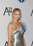 Model  Ginta Lapina Attends the Unitas Gala <br /> Against Sex Trafficking Held at Capitale