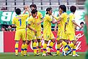 Montedio Yamagata team group, APRIL 30, 2012 - Football : 2012 J.LEAGUE Division 2 between Tokyo Verdy 0-2 Montedio Yamagata at Ajinomoto Stadium, Tokyo, Japan. (Photo by Atsushi Tomura /AFLO SPORT) [1035]