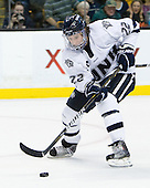 Stevie Moses (UNH - 22) - The Merrimack College Warriors defeated the University of New Hampshire Wildcats 4-1 (EN) in their Hockey East Semi-Final on Friday, March 18, 2011, at TD Garden in Boston, Massachusetts.