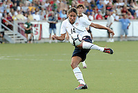 Stephanie Cox...USWNT tied Sweden 1-1 at Morrison Stadium, Omaha Nebraska.