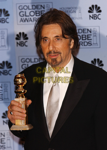 AL PACINO.61st Annual Golden Globe Awards.25 January 2004.award winner .www.capitalpictures.com.sales@capitalpictures.com.©Capital Pictures.