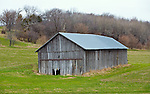 A collection of Barns that still can be seen while traveling the countryside in  the beautiful State of Wisconsin.<br /> Dane County-Tobacco shed on Liberty Rd west of Deerfield.