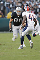 ZAACH MILLER, of the Oakland Raiders  in action during the Raiders game against the  Denver Broncos on December 2, 2007 in Oakland, California...RAIDERS  win 34-20..SportPics