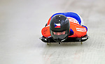 17 December 2010: Michaela Glaesser sliding for Switzerland, finishes in 19th place at the Viessmann FIBT Skeleton World Cup Championships in Lake Placid, New York, USA. Mandatory Credit: Ed Wolfstein Photo
