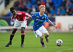 St Johnstone Academy v Manchester Utd Academy&hellip;.06.05.16  McDiarmid Park, Perth<br />Kyle Green and Reece Ellington<br />Picture by Graeme Hart.<br />Copyright Perthshire Picture Agency<br />Tel: 01738 623350  Mobile: 07990 594431