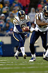 3 December 2006: San Diego Chargers punter Mike Scifres (5) in action against the Buffalo Bills at Ralph Wilson Stadium in Orchard Park, New York. The Charges defeated the Bills 24-21. Mandatory Photo Credit: Ed Wolfstein Photo<br />