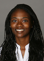 STANFORD, CA - SEPTEMBER 28:  Dorothy Donkor of the Stanford Cardinal women's basketball team poses for a headshot on September 28, 2009 in Stanford, California.