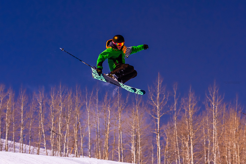 USA-Colorado-Aspen/Snowmass-Winter-Terrain Park