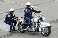 PHILADELPHIA, PA - OCTOBER 1: 62nd annual Philadelphia Hero Thrill Show motorcycles pictured at the Wells Fargo parking lot in Philadelphia, Pennsylvania  on October 1, 2016  photo credit  Star Shooter/MediaPunch