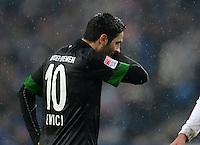 FUSSBALL   1. BUNDESLIGA   SAISON 2012/2013    19. SPIELTAG Hamburger SV - SV Werder Bremen                          27.01.2013 Mehmet Ekici (SV Werder Bremen) enttaeuscht