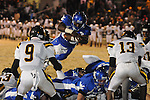 Water Valley's Jeoffrey Gordon (29) vs. Cleveland Eastside in Water Valley, Miss. on Friday, November 18, 2011.
