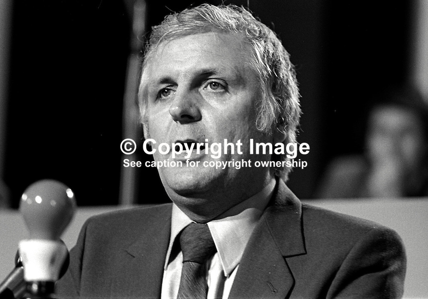 Joe Ashton, MP, Labour Party, UK, speaking at his party's annual conference. 198009000406JA1..Copyright Image from Victor Patterson, 54 Dorchester Park, Belfast, United Kingdom, UK...For my Terms and Conditions of Use go to http://www.victorpatterson.com/Victor_Patterson/Terms_%26_Conditions.html