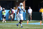 24 September 2016: UNC's M.J. Stewart. The University of North Carolina Tar Heels hosted the University of Pittsburgh Panthers at Kenan Memorial Stadium in Chapel Hill, North Carolina in a 2016 NCAA Division I College Football game. UNC won the game 37-36.