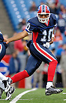 4 November 2007: Buffalo Bills backup quarterback Gibran Hamdan warms up prior to a game against the Cincinnati Bengals at Ralph Wilson Stadium in Orchard Park, NY. The Bills defeated the Bengals 33-21 in front of a sellout crowd of 70,745...Mandatory Photo Credit: Ed Wolfstein Photo