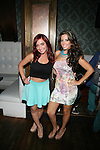 "MTV's Angelina Pivarnick and VH1's Elizabeth Ann Attend ""RokStarLifeStyle"" Celebrity Publicist MarieDriven Birthday Extravaganza Hosted by Jack Thriller & MTV Angelina Pivarnick Held at Chelsea Manor, NY"