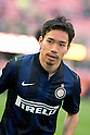 "Yuto Nagatomo (Inter), FEBRUARY 23, 2014 - Football / Soccer : Italian ""Serie A"" match between Inter Milan 1-1 Cagliari at Stadio Giuseppe Meazza in Milan, Italy. (Photo by Enrico Calderoni/AFLO SPORT)"