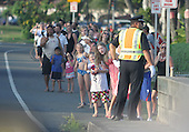 United States President Barack Obama heads out of Kailua as he heads towards Joint Base Pearl Harbor-Hickam on his last day of the first family's vacation, Honolulu, Hawaii, Monday, January 2, 2012.Credit: Cory Lum / Pool via CNP