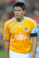Houston Dynamo forward Brian Ching (25).   The Houston Dynamo defeated DC United 3-1, at RFK Stadium, Saturday September 25, 2010.