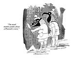 """The usual mumbo-jumbo about a Pharoah's curse."""