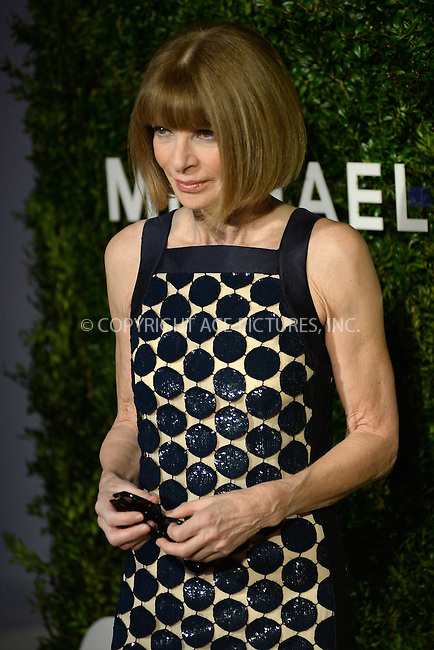 www.acepixs.com<br /> October 17, 2016  New York City<br /> <br /> Anna Wintour attending the God's Love We Deliver Golden Heart Awards on October 17, 2016 in New York City.<br /> <br /> <br /> Credit: Kristin Callahan/ACE Pictures<br /> <br /> <br /> Tel: 646 769 0430<br /> Email: info@acepixs.com