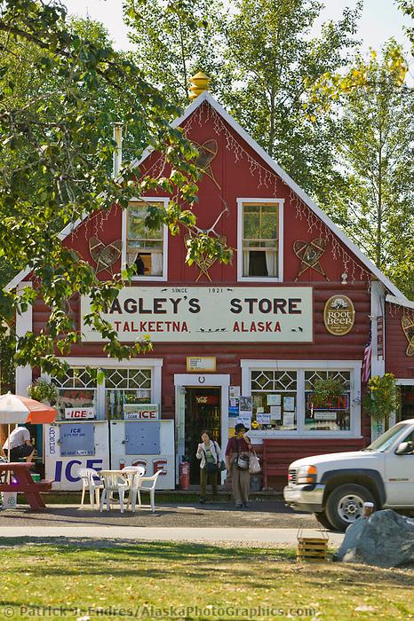 Nagley's Store, downtown, Talkeetna, Alaska