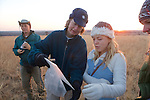 ill & Emma Checking Small Mammal Traps
