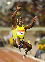 James Beckford had a leap of 7.51m to finish 4th. at the Jamaica International Invitational Meet held at the National Stadium, Kingston, Jamaica on Saturday, May 2nd.  2009. Photo by Errol Anderson,The Sporting Image.net